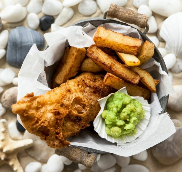 Fish and chips Foto: